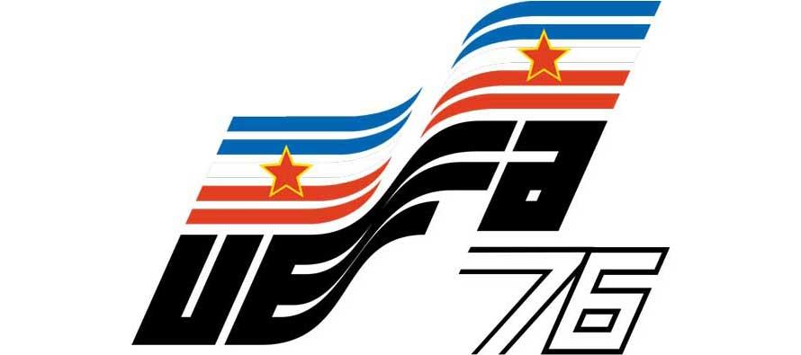 Euro 1976 Logo - Yugoslavia