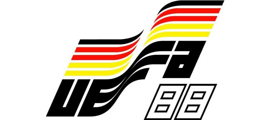 Euro 1988 Logo - West Germany