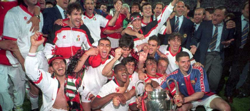 AC Milan Champions League Winners 1994