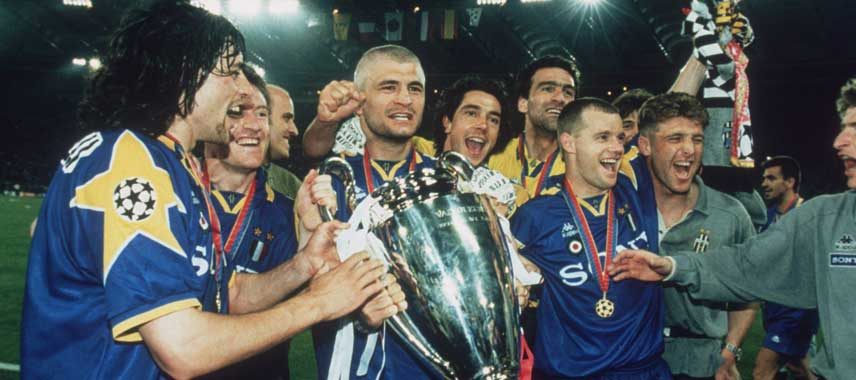Juventus Champions League Winners 1996