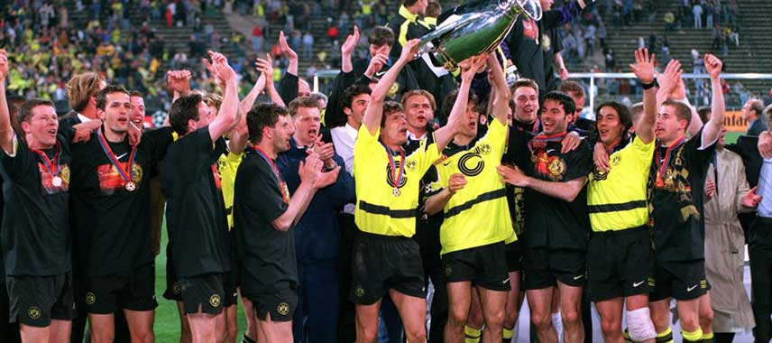 Borussia Dortmund Champions League Winners 1997