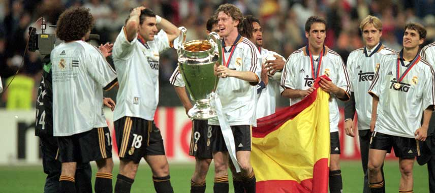 Real Madrid Champions League Winners 2000