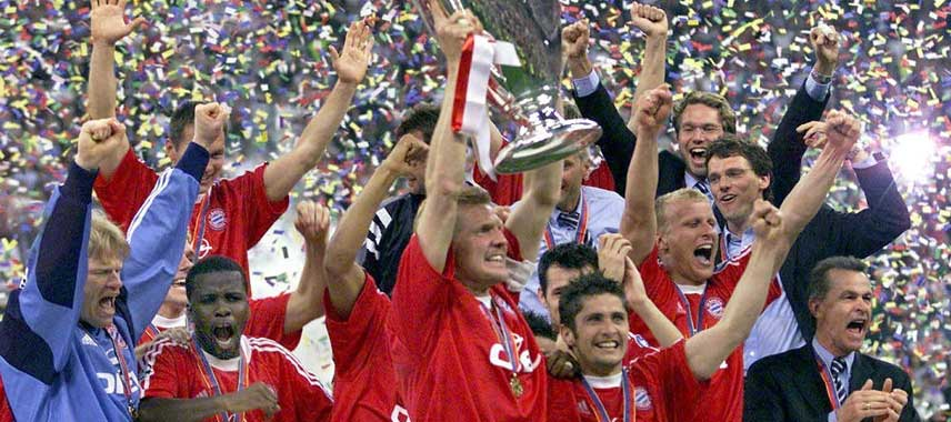 Bayern Munich Champions League Winners 2001