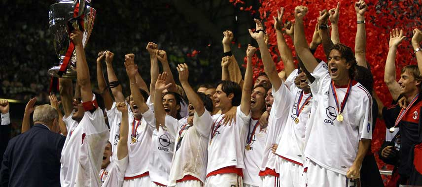 AC Milan Champions League Winners 2003