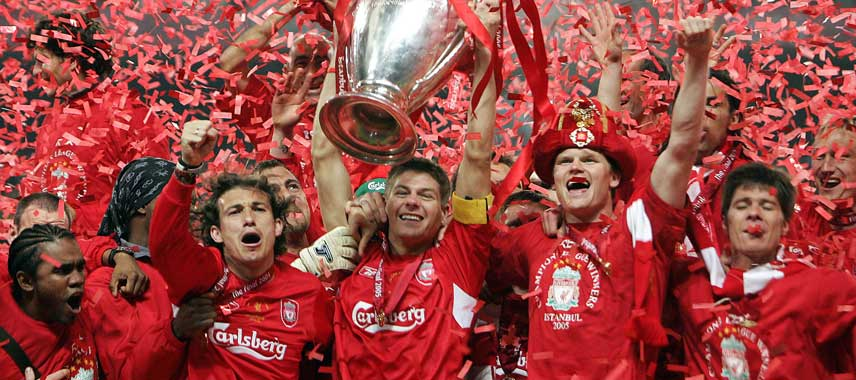 Liverpool Champions League Winners 2005
