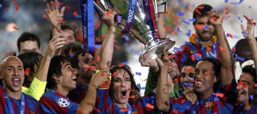Barcelona Champions League Winners 2006