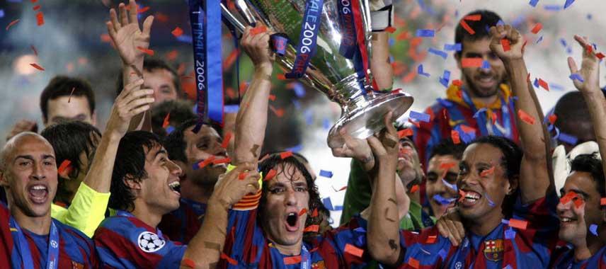 Barcelona Champions League Winners 2006