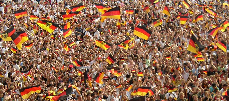 German fans 2006 world cup
