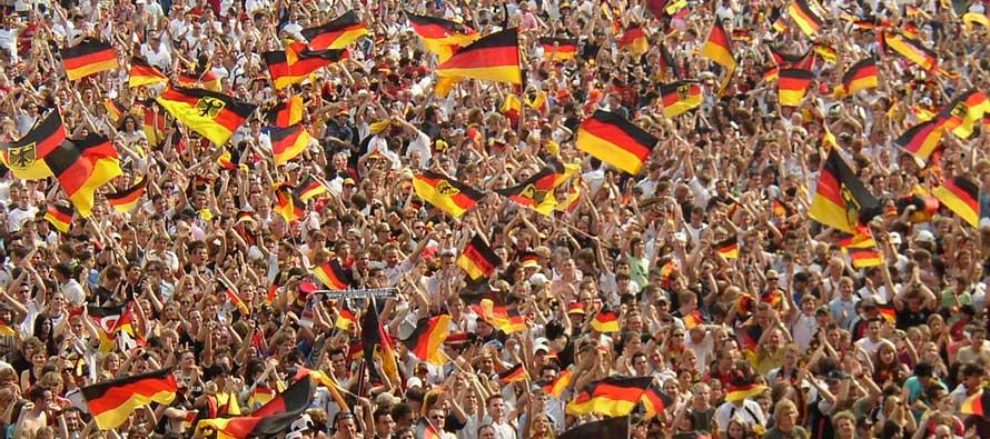 German fans 2006 world cup