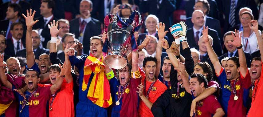 Barcelona Champions League Winners 2009