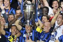 Inter Milan Champions League Winners 2010