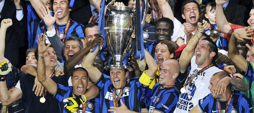 Inter Milan Champions League Winners 2010