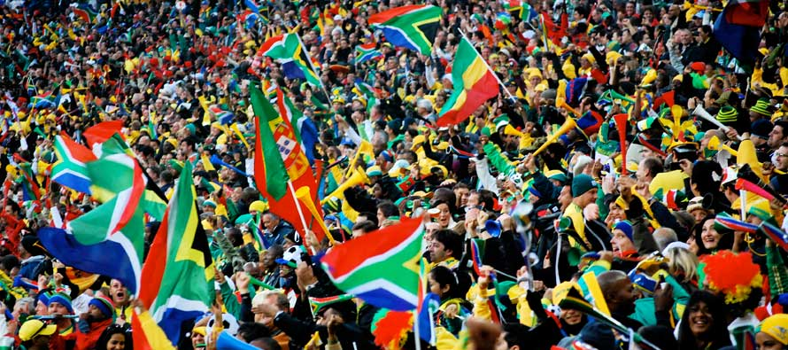 South African Fans 2010 world cup
