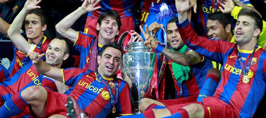 Barcelona Champions League Winners 2011