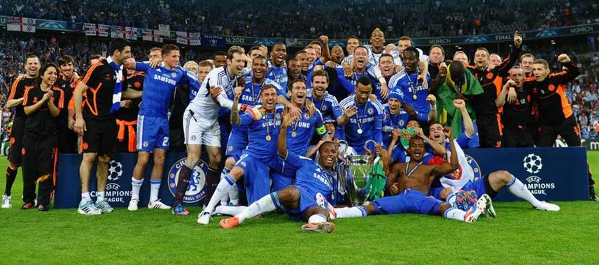 Chelsea Champions League Winners 2012