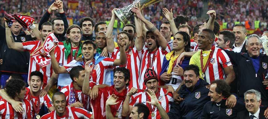 Atletico Madrid Europa League Champions 2012