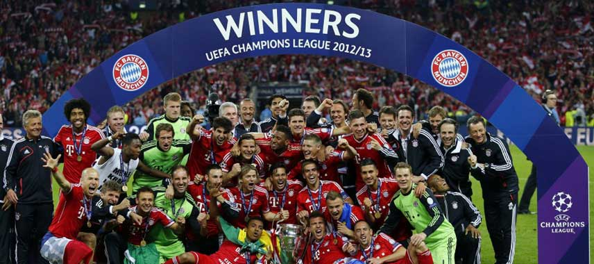 Bayern Munich Champions League Winners 2013