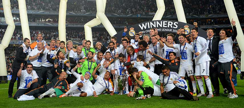 Real Madrid Champions League Winners 2014