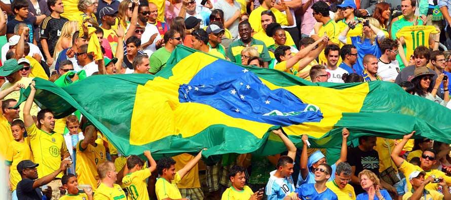 Brazilian Fans 2014 World Cup