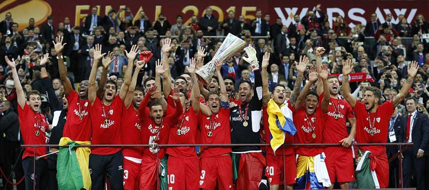 Sevilla Europa League Winners 2015