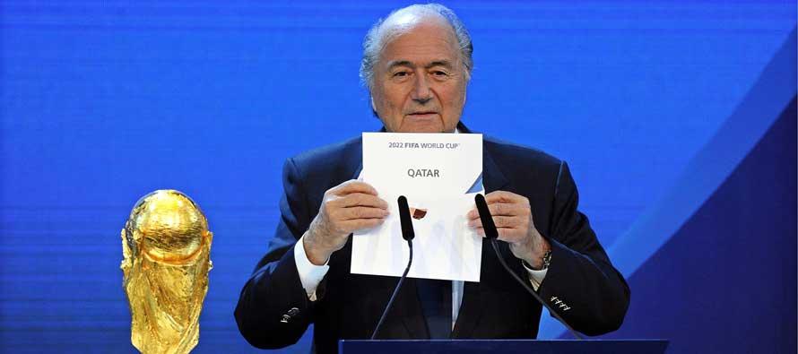 Sepp Blatter Qatar winning envelope