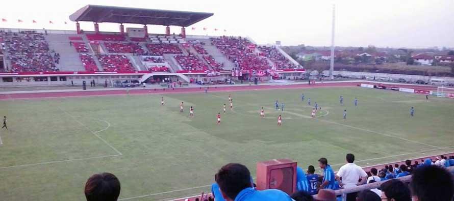 72nd Anniversary Stadium main stand