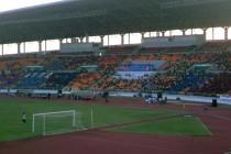 Main stand of 80th Birthday stadium
