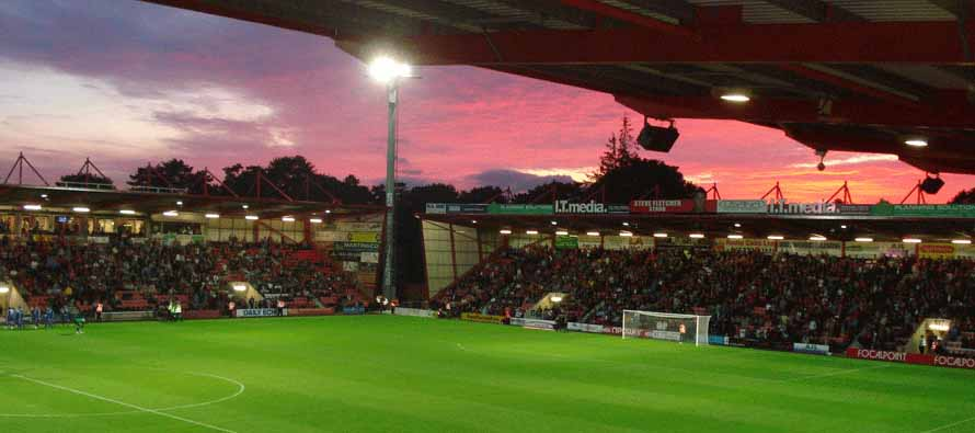 Inside Dean Court Sunset