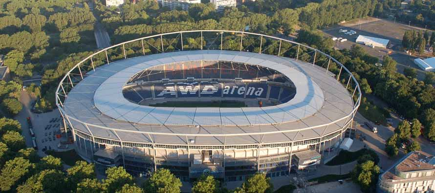 Aeria View of AWD Arena
