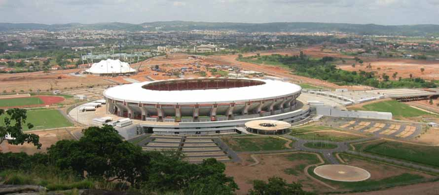 Aerial View of Abuja Stadium