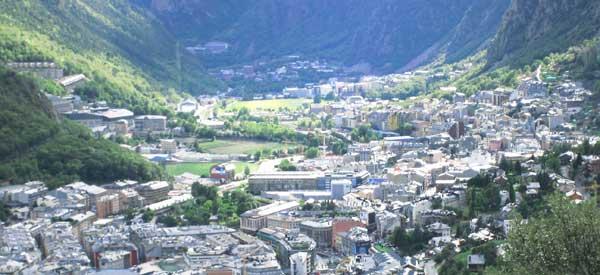 Andorra La Vella Valley