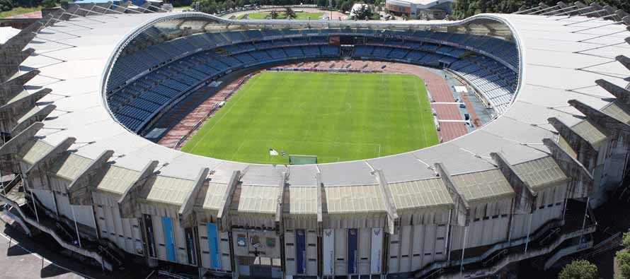 Aerial View of Anoeta Stadium