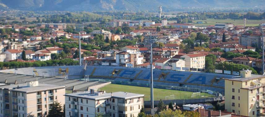 aerial view of Arena Garibaldi