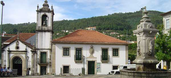 Arouca Town hall building