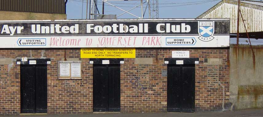 Main turnstile entrance of Somerset Park