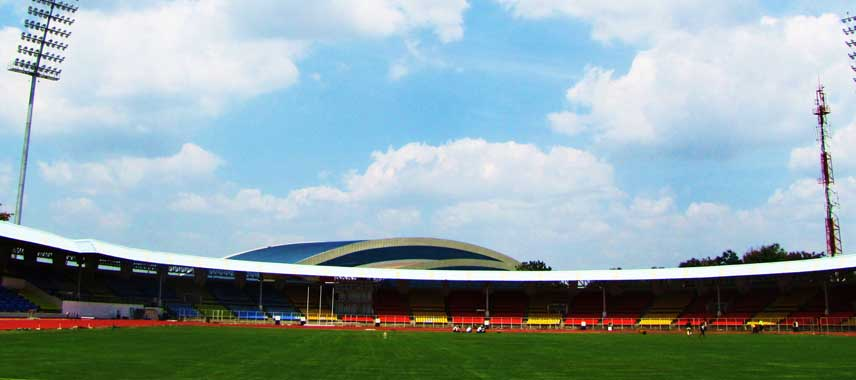 Inside Balewadi Sports Stadium