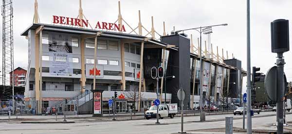 Exterior of Berhn Arena