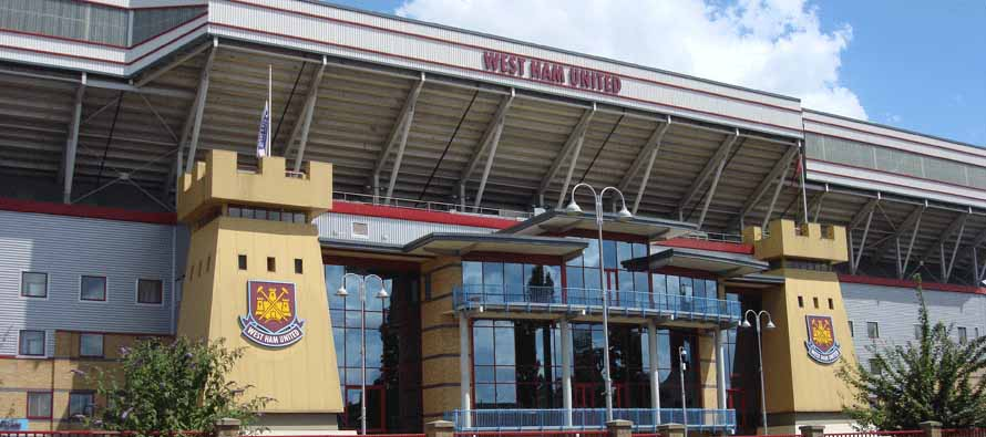 Main Castle entrance to Upton Park