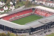 Aerial View Brann Stadion