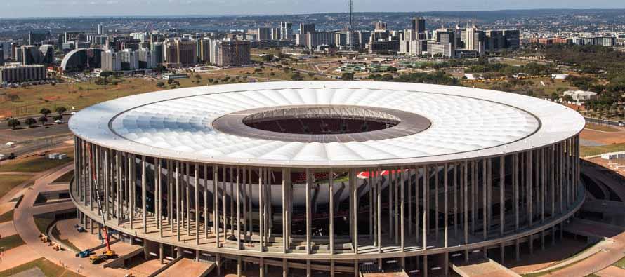 exterior Estádio Garrincha stadium