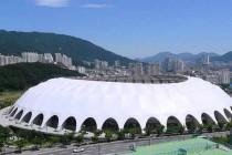 Exterior of Busan Asiad Main Stadium