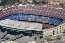Aerial View of Camp Nou