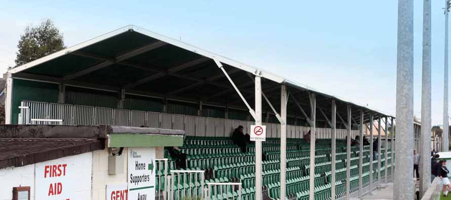 Carlisle Grounds Stadium stand