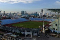 Overlooking Chi Lang Stadium Pitch