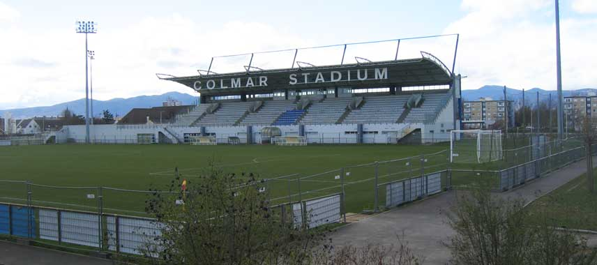 Main stand of Colmar Stadim