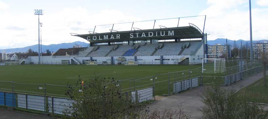 Main stand of Colmar Stadim