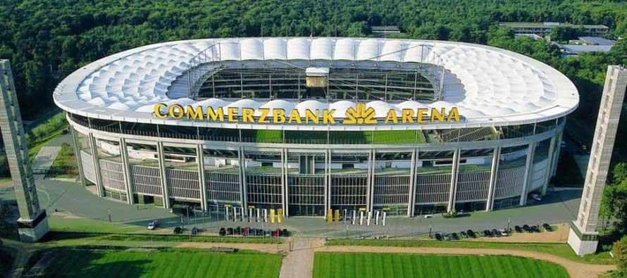 Main Entrance Commerzbank Arena