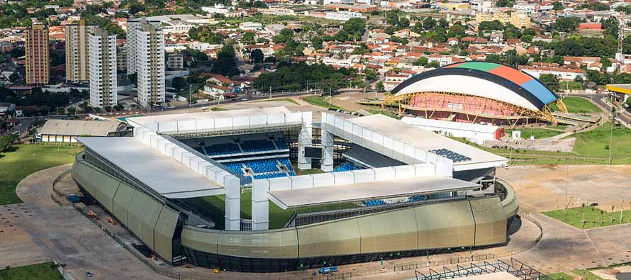 aerial view of cuiaba arena