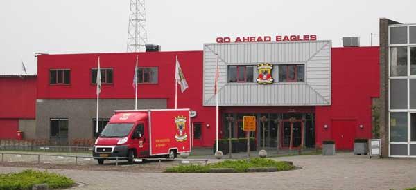 Exterior of De Adelaarshorst stadium