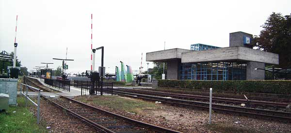 Main platform of Doetinchem station